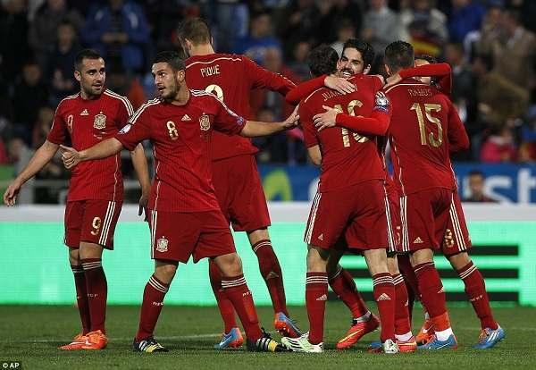 Prediksi Skor Spanyol vs Rusia